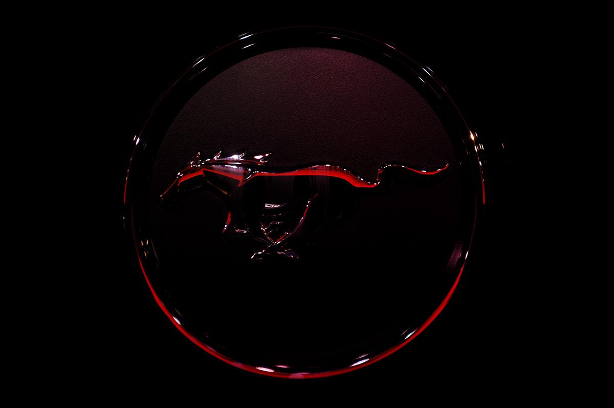 Ford Mustang Arka Logo