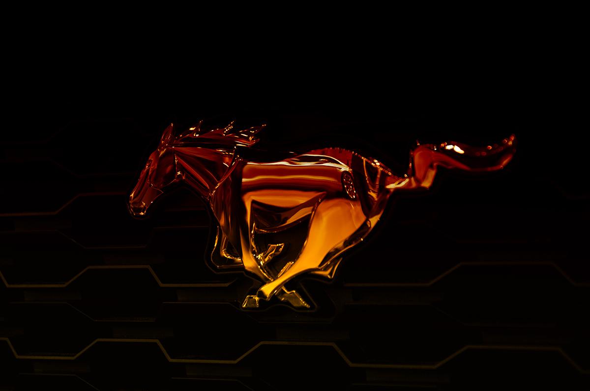 Ford Mustang Ön Logo